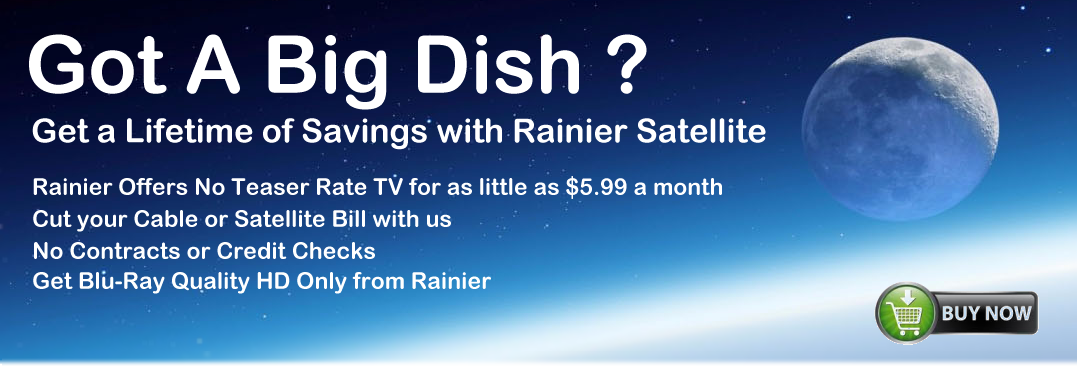 big dish programming rainier satellite